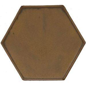 Hexagon gold,