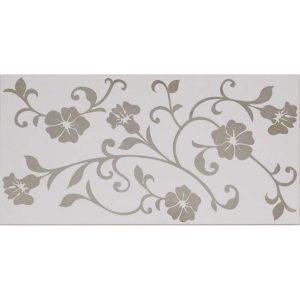 Daphne white platin dekor, 30×60