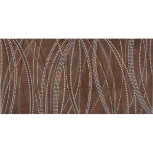 Vizon inci Brown dekor, 30×60