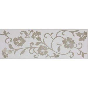 Daphne platin white dekor, 20×60