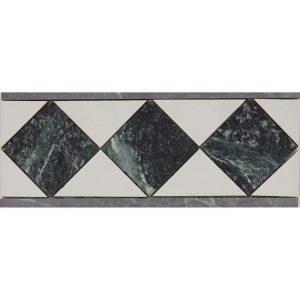 Marmor verde crema, 10×25