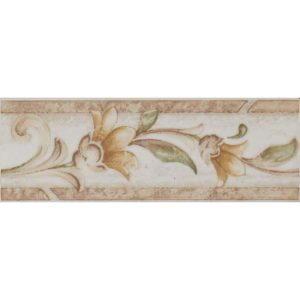 Antik flora marron, 6,5×20