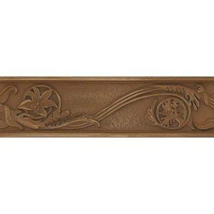 Yukon bronze list voluta, 7×25