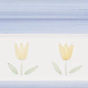 Amarillo flora Azul, 10×20