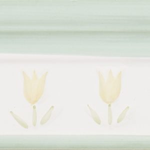 Amarillo flora Verde, 10×20