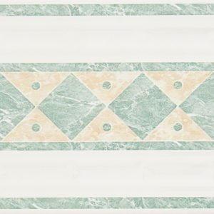 Antico onda verde, 17.5×20