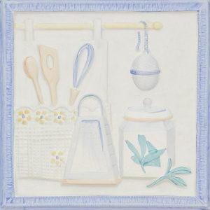 Asma Da Cucina Azul, 20×20