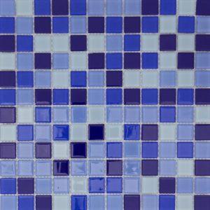 lasimosaiikki sininen, 30×30
