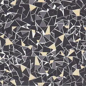 Origami siyah dekor, 20×60