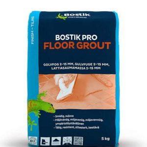 Saumalaasti, Pro floor grout, Graffitinharmaa, 5kg