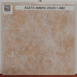 Agata Ambra 20×20