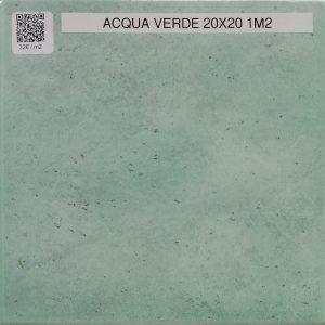 Acqua verde 20×20