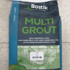 Bostik multigrout harmaavalkoinen saumalaasti 15kg